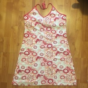 H&M Halter Top Summer Flower Print Dress